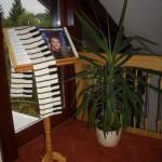 Klavier-Schal