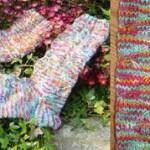 Schwalbenmuster-Socken