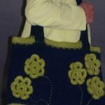 Einkaufstasche mit Blüten