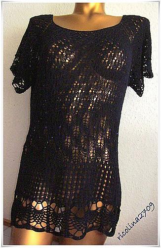 Lacepulli mit Perlen – Strick – Ideen