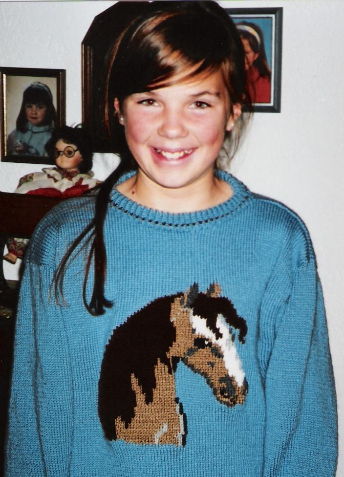 Enchanting Pferd Strickmuster Pictures - Decke Stricken Muster ...
