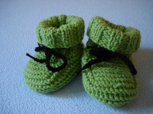 babyschuhe stricken f r anf nger my blog. Black Bedroom Furniture Sets. Home Design Ideas