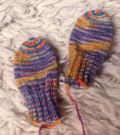 Baby Handschuhe Strick Ideen