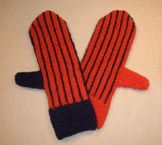fausthandschuhe stricken mit keil