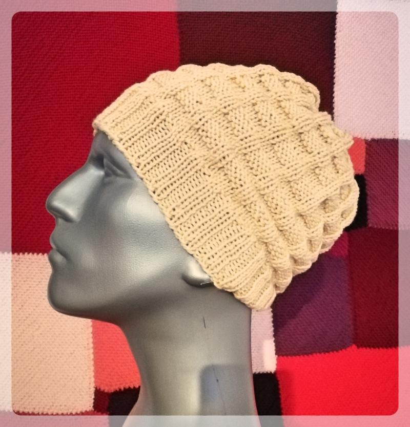 Riemchen-Muster Mütze – Strick – Ideen